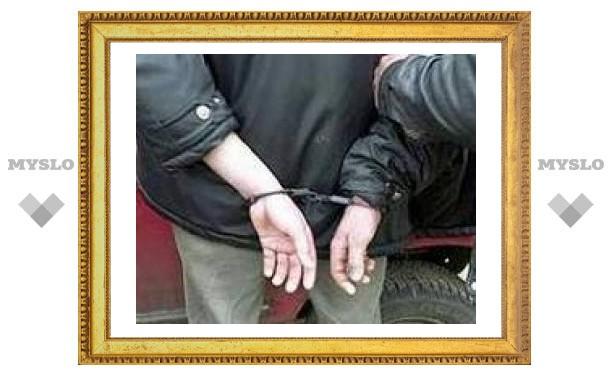 Под Тулой задержали грабителя