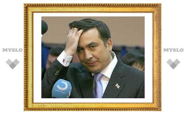 Саакашвили сохраняет шансы на победу в первом туре