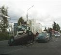 В Туле столкнулись пять машин