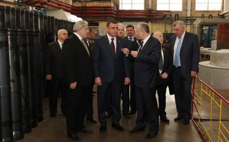Алексей Дюмин посетил АО «НПО «Сплав»