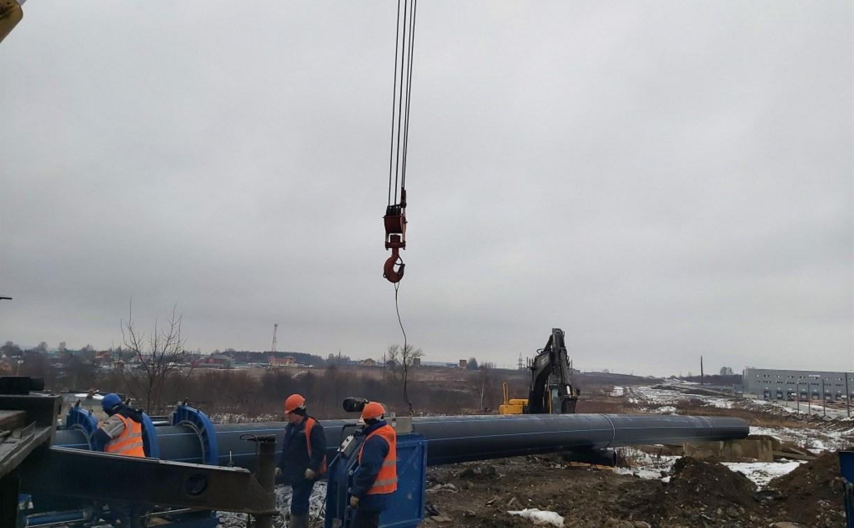 На Медвенско-Осетровском водозаборе заменят 900 метров ветхих труб