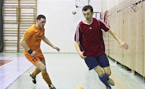 Тульский «Локомотив» не справился с гуровским «Бетоном»