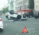 ДТП с «перевертышем» в Туле на пр. Ленина попало на видео