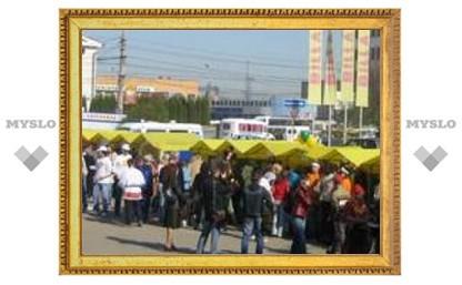 В Туле проходит ярмарка школьных компаний
