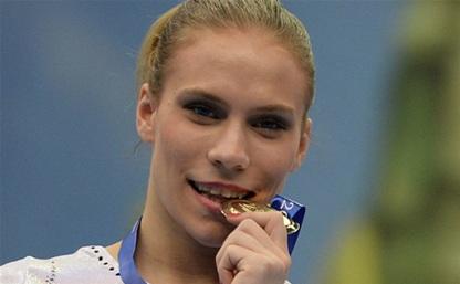 Тульская гимнастка завоевала золотую медаль на Универсиаде-2013 в Казани