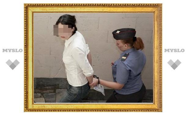 Женщину арестовали за неуплату алиментов