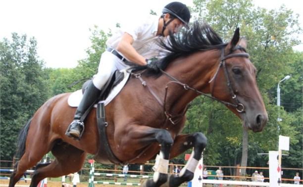 В Центральном парке прошли соревнования в конном спорте