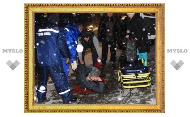 В Туле сбили пешехода
