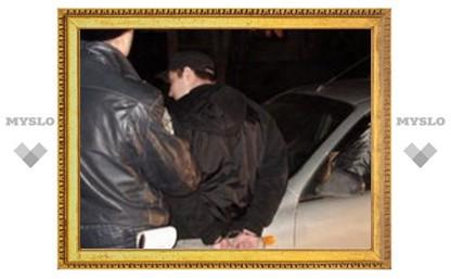 Под Тулой задержали банду грабителей