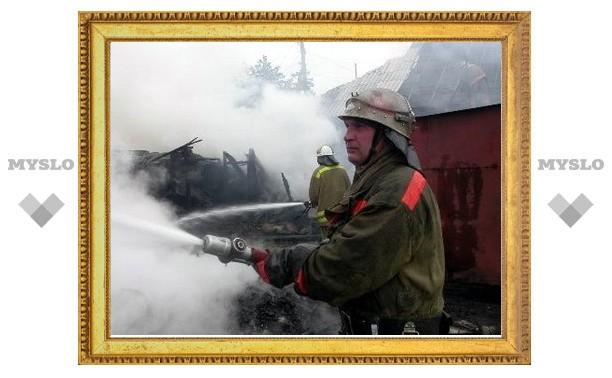 Туляк спалил дом и спас машину