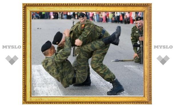 Тульские десантники выступят с показательными выступлениями