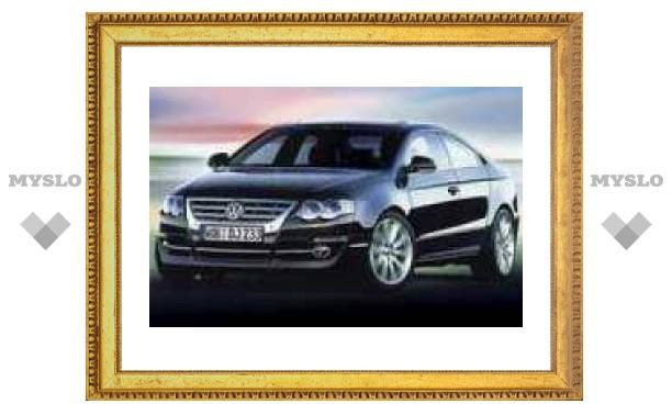 Четырехдверное купе Volkswagen покажут в Детройте