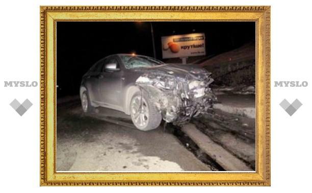 Гонщик на BMW X6 разбился под Тулой