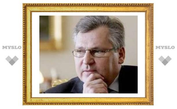 Бывший президент Польши увидел Россию в составе НАТО