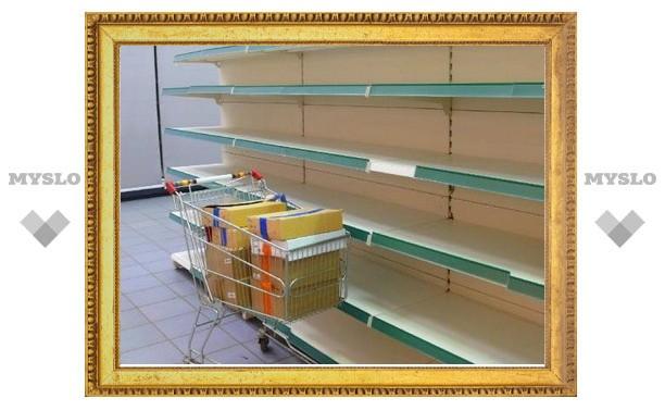 Тульский супермаркет закрыли из-за сильного шума