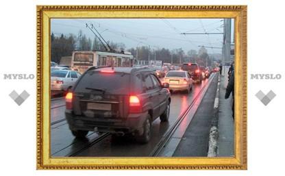 На Зареченском мосту откроется дополнительная полоса для автомобилей