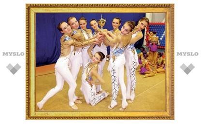 """Гимнастки из """"Роксэт"""" успешно выступили на Кубке России"""