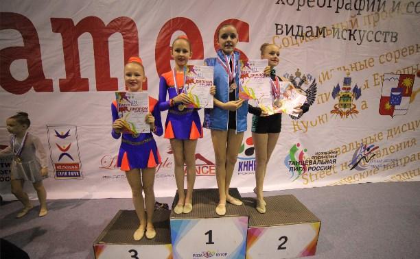 Тульские мажоретки отличились на чемпионате России в Сочи