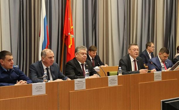 Тульская облдума приняла бюджет региона на 2020 год