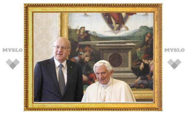 Премьер-министр Ливана совершил визит в Ватикан