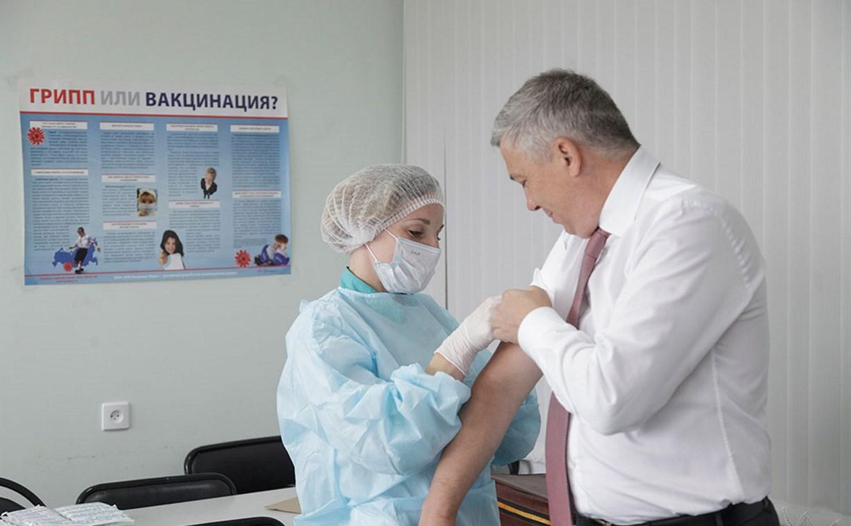 В Тульской области более 160 тысяч человек сделали прививки от гриппа