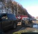 В Туле водитель «Шевроле» устроил массовое ДТП