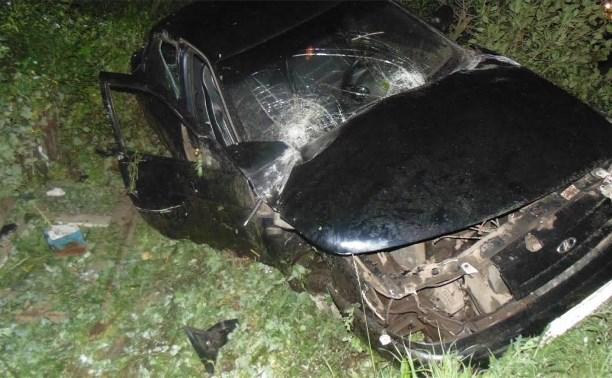 Пьяный водитель пострадал в ДТП на трассе