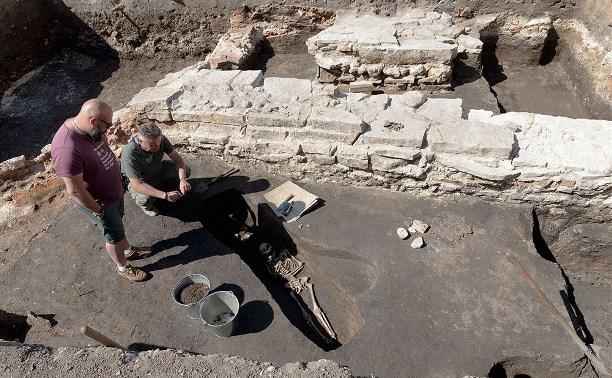 На территории Тульского кремля нашли древнее кладбище