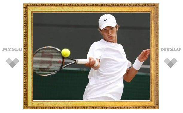 Тульский теннисист в паре с бразильцем не попал в финал турнира