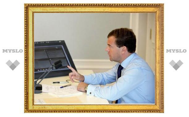 Медведев подписал закон о цветовой шкале террористической угрозы