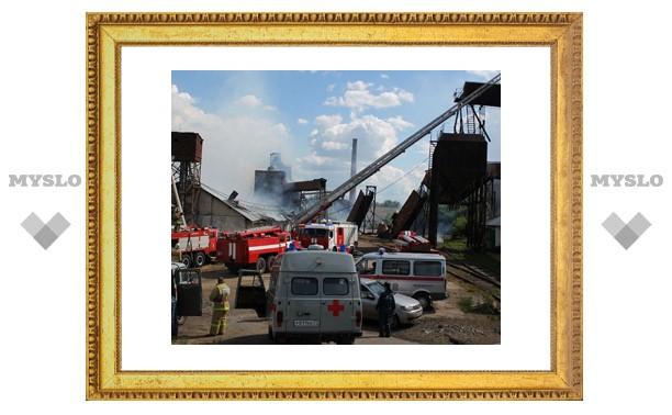 Пожар в Плавске тушили 17 расчетов