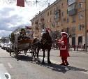 В Туле на проспекте Ленина замечена карета