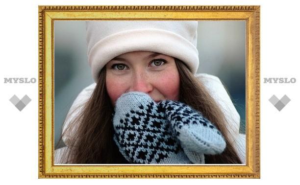 В Тулу приходит зима