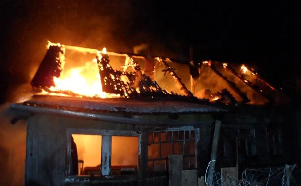 В Суворовском районе в огне погибла пожилая женщина