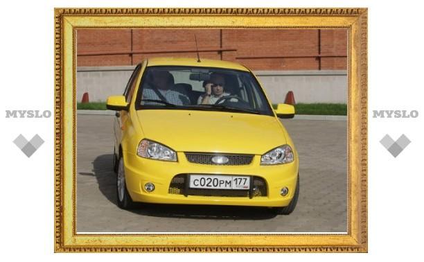 Модель Lada Kalina Sport подорожала из-за Путина