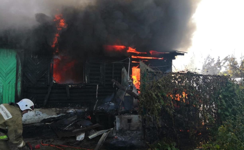 Спасала собак? На пожаре в поселке Плеханово погибла женщина