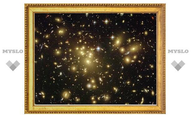 Темная материя отказалась подчиняться законам гравитации