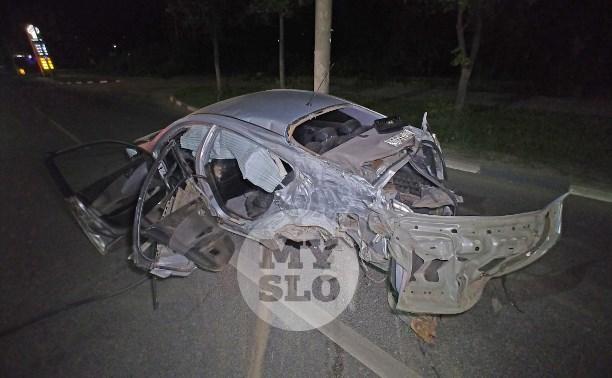 Крупное ДТП на ул. Металлургов в Туле: водитель уходил от погони
