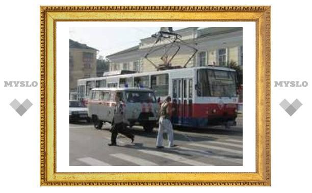 """Запуск """"первого"""" трамвая в Туле"""