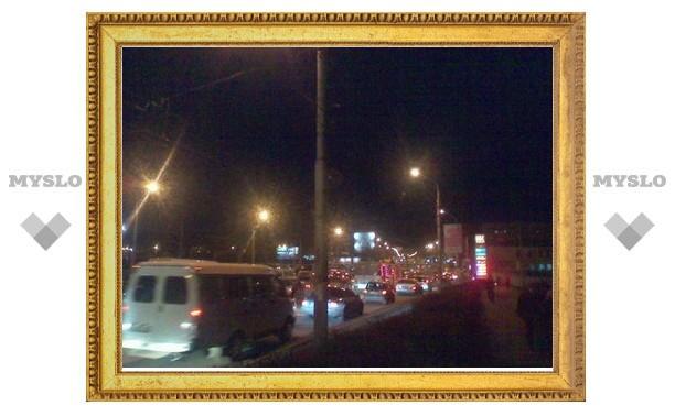 В Туле случился транспортный коллапс