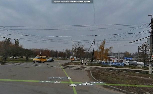 На Одоевском шоссе «МАЗ» повредил линии электропередач