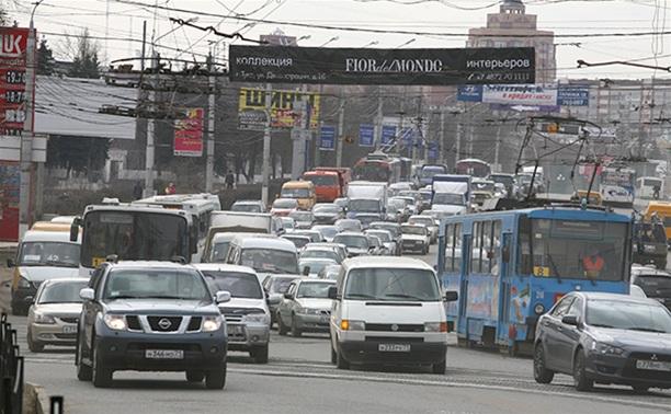 До наступления транспортного коллапса в Туле осталось две недели