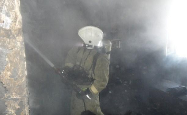 В результате пожара в доме на улице Кутузова погиб мужчина