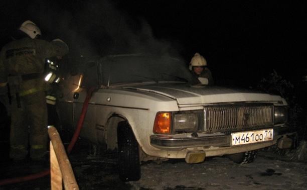 На Красноармейском проспекте в Туле сгорел автомобиль