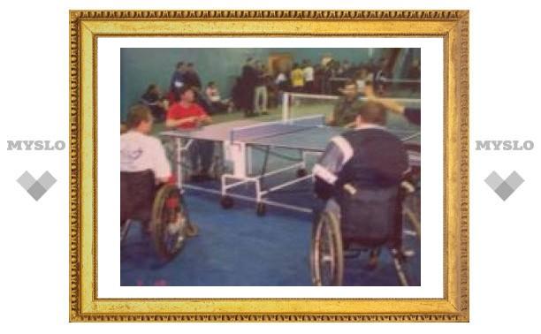 В Туле проходит спартакиада среди спортсменов-инвалидов