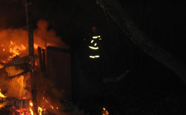 На пепелище сгоревшей в Туле дачи обнаружен труп