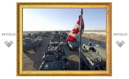 В Афганистане взорваны два канадских военных патруля