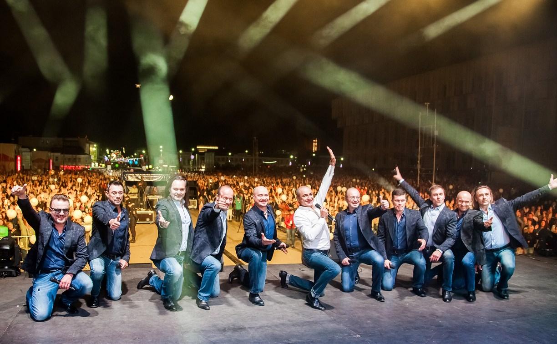 «Хор Турецкого» поздравил туляков с Днём города