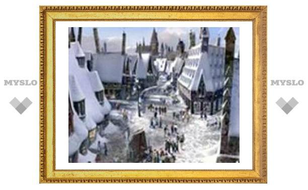 Строительство парка Гарри Поттера началось в США