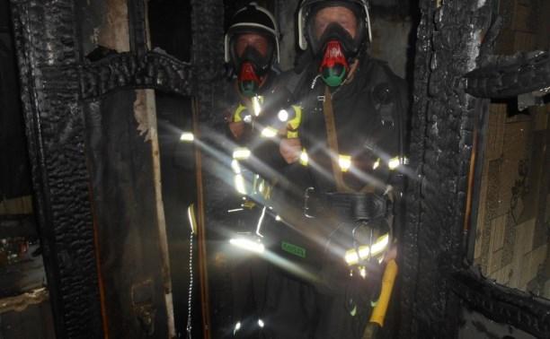 В Дубне в пятиэтажке сгорела квартира